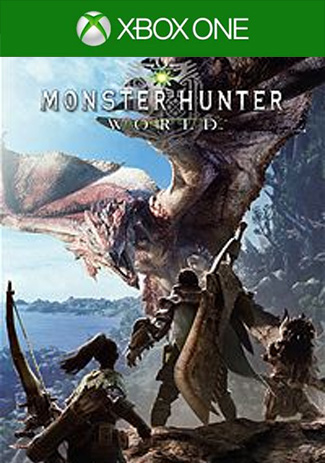 Official Xbox One MONSTER HUNTER WORLD (Xbox One Download Code/EU)