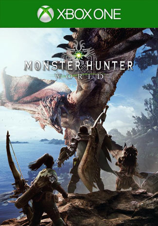 Official Monster Hunter: World (Xbox One Download Code)
