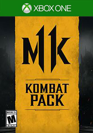 Official Mortal Kombat 11 Kombat  Pack (Xbox One Download Code)