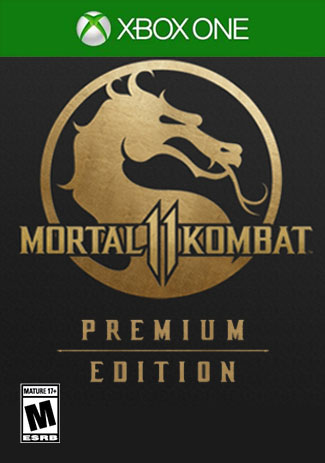 Official Mortal Kombat 11 Premium Edition  (Xbox One Download Code)