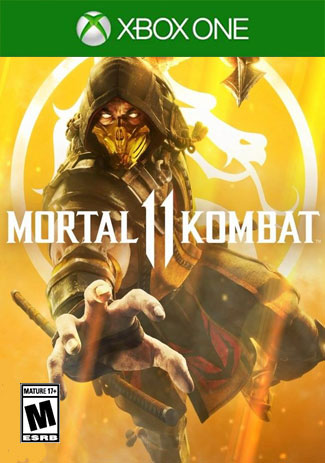 Official Mortal Kombat 11  (Xbox One Download Code)