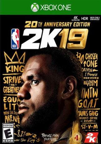 Official NBA 2K19 20th Anniversary Edition (Xbox One Download Code)