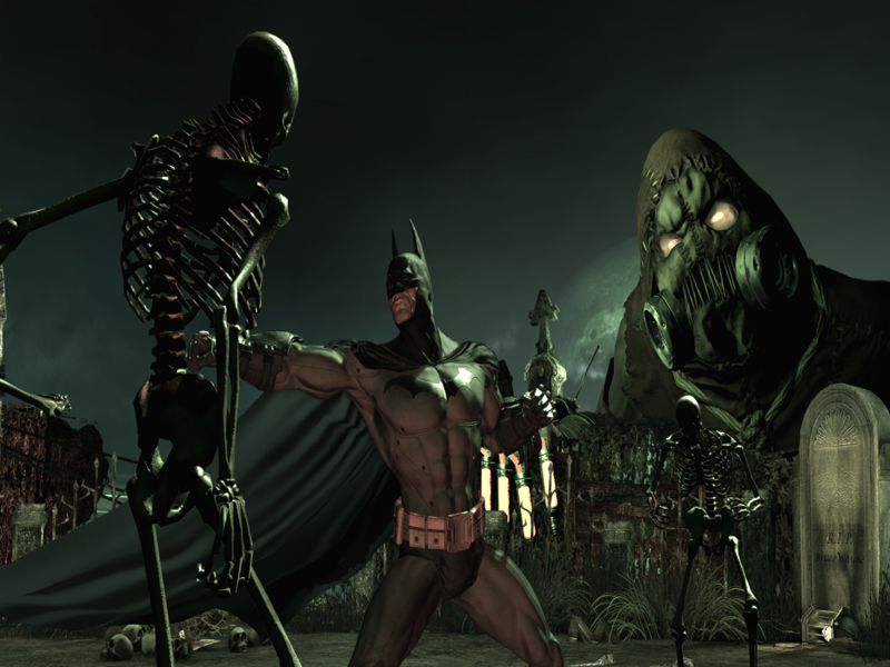 Official Batman: Arkham Asylum GOTY Edition