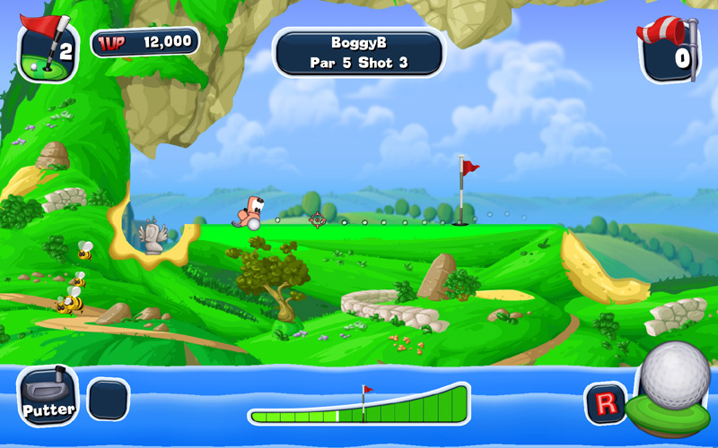 Official Worms Crazy Golf Fun Pack