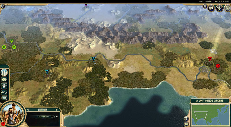 Official Sid Meier's Civilization V Map Pack: Scrambled Continents (DLC)