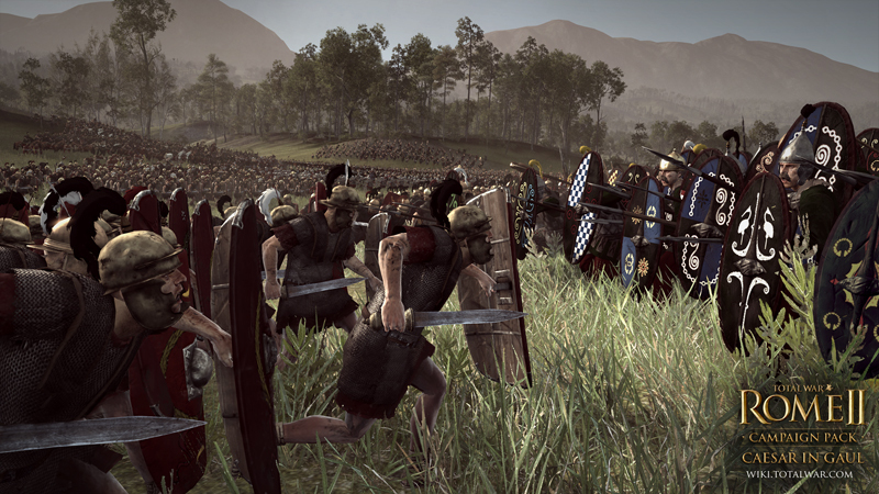 Official Total War: Rome II - Caesar in Gaul (DLC)
