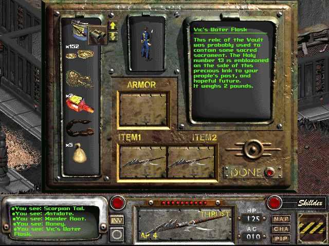 Official Fallout 2: A Post Nuclear Role Playing Game