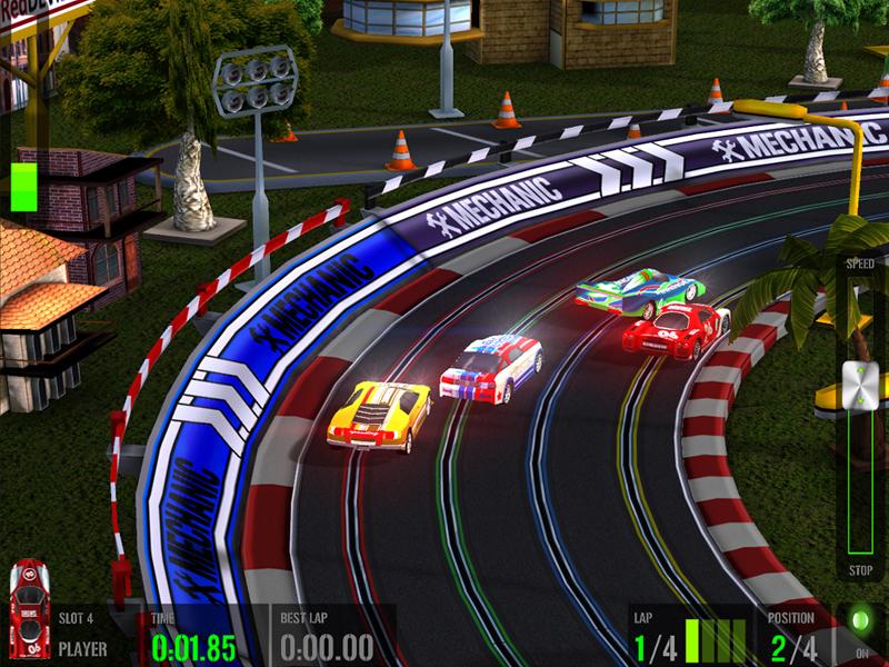 Official HTR+ Slot Car Simulation