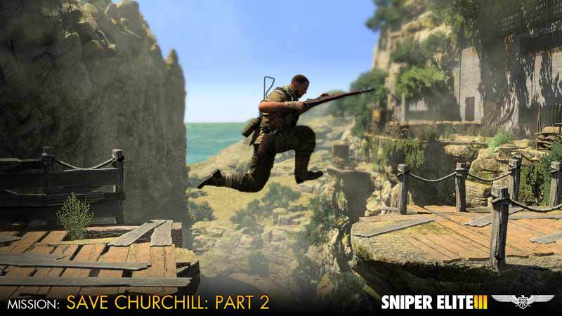 Official Sniper Elite III - Save Churchill Part 2: Belly of the Beast (DLC)
