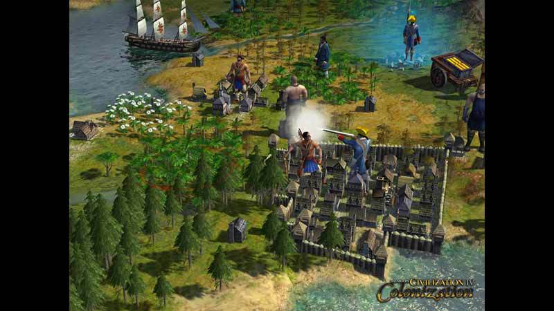 Official Sid Meier's Civilization IV: Colonization