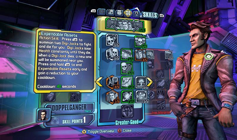Official Borderlands: The Pre-Sequel - Handsome Jack Doppelganger Pack