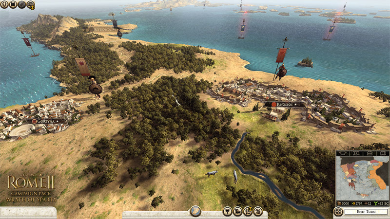 Official Total War: Rome II - Wrath of Sparta