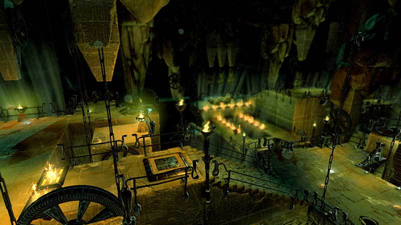 Official Lara Croft and The Temple of Osiris - Twisted Gears