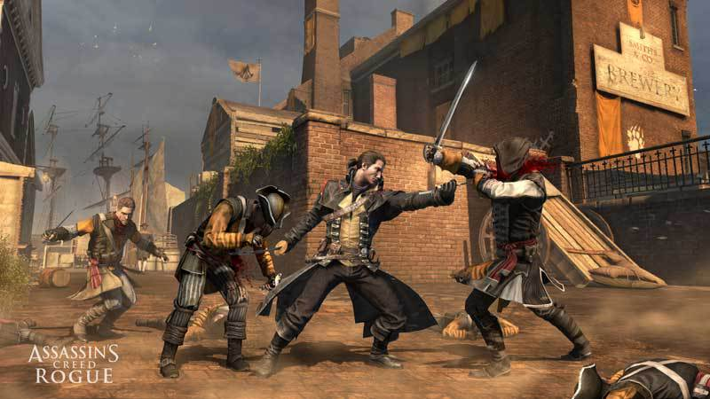 Official Assassin's Creed Rogue - Deluxe Edition