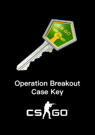 CSGO Operation Breakout Case Key
