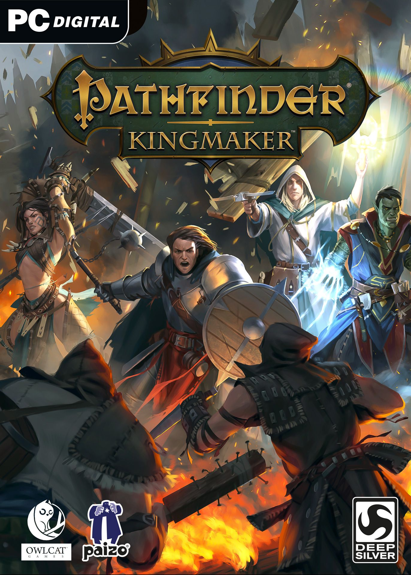 Official Pathfinder: Kingmaker Explorer Edition (PC/Mac/US)