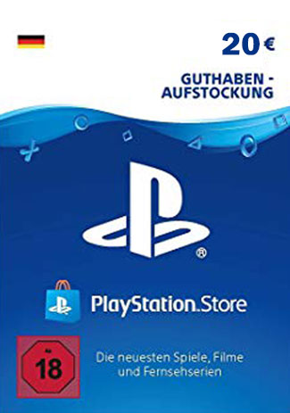 Official PSN 20 EUR / PlayStation Network Gift Card DE Store