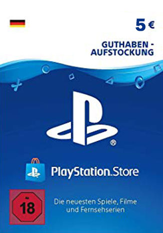 Official PSN 5 EUR (DE) - PlayStation Network Gift Card