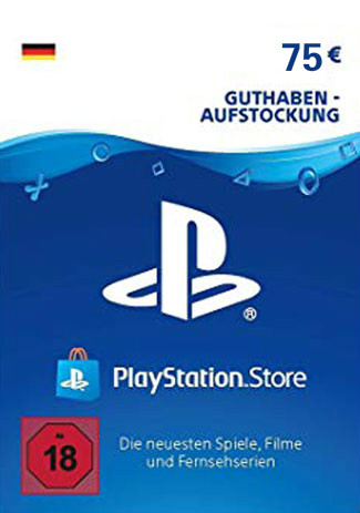 Official PSN 75 EUR (DE) - PlayStation Network Gift Card