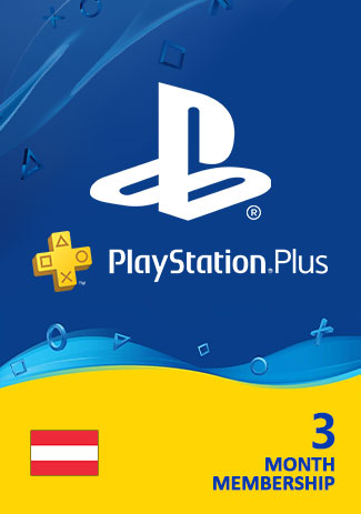 Official PSN Plus 90 Days (AT) - PlayStation Plus 3 Month