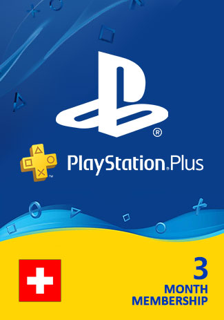 PSN Plus 90 Days (CH) - PlayStation Plus 3 Month
