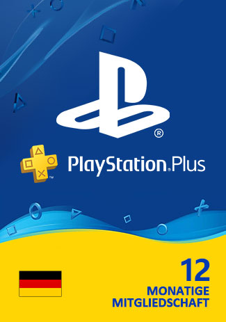 Official PSN Plus 365 Days (DE) - PlayStation Plus 12 Month