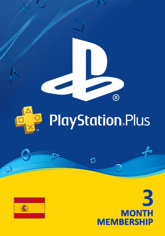 Official PSN Plus 90 Days (ES) - PlayStation Plus 3 Month