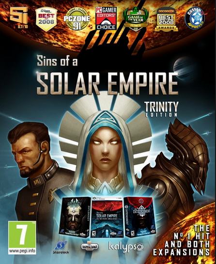 Official Sins of a Solar Empire: Trinity (PC)
