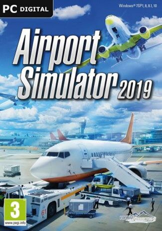 Official Airport Simulator 2019 (PC/EU)
