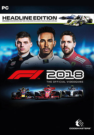 Official F1 2018 Headline Edition (PC/EU)
