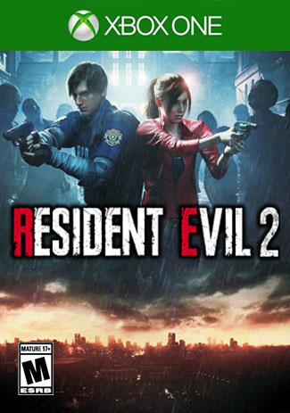Official RESIDENT EVIL 2 Remake (Xbox One Download Code)