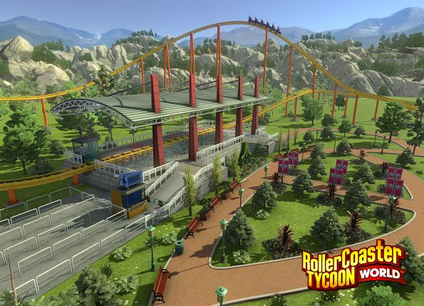 Official RollerCoaster Tycoon World - Deluxe Edition (PC)