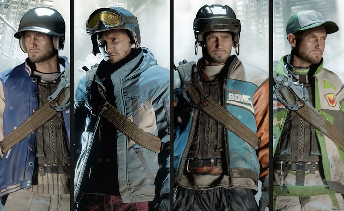 Official Tom Clancys The Division Sports Fan Outfits pack DLC