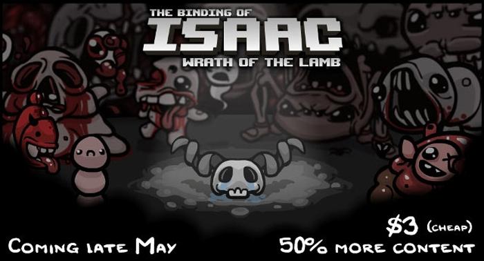 Official Binding of Isaac: Wrath of the Lamb DLC (PC/Mac)