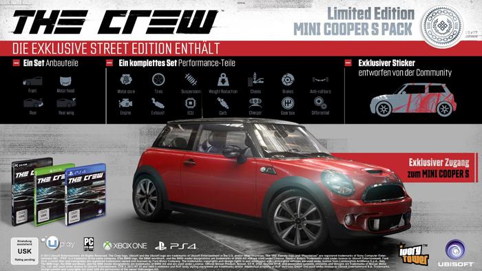 Official The Crew - Mini Cooper S DLC (PC)