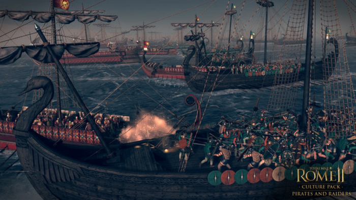 Official Total War: Rome II - Pirates and Raiders DLC (PC)