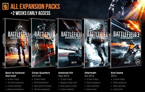 Official Battlefield 3 Premium Service (PC)