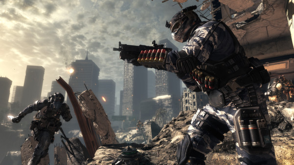 Official Call of Duty: Ghosts + Free Fall (PC)