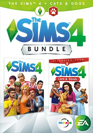 The Sims 4 Plus Cats and Dogs (PC/Mac)