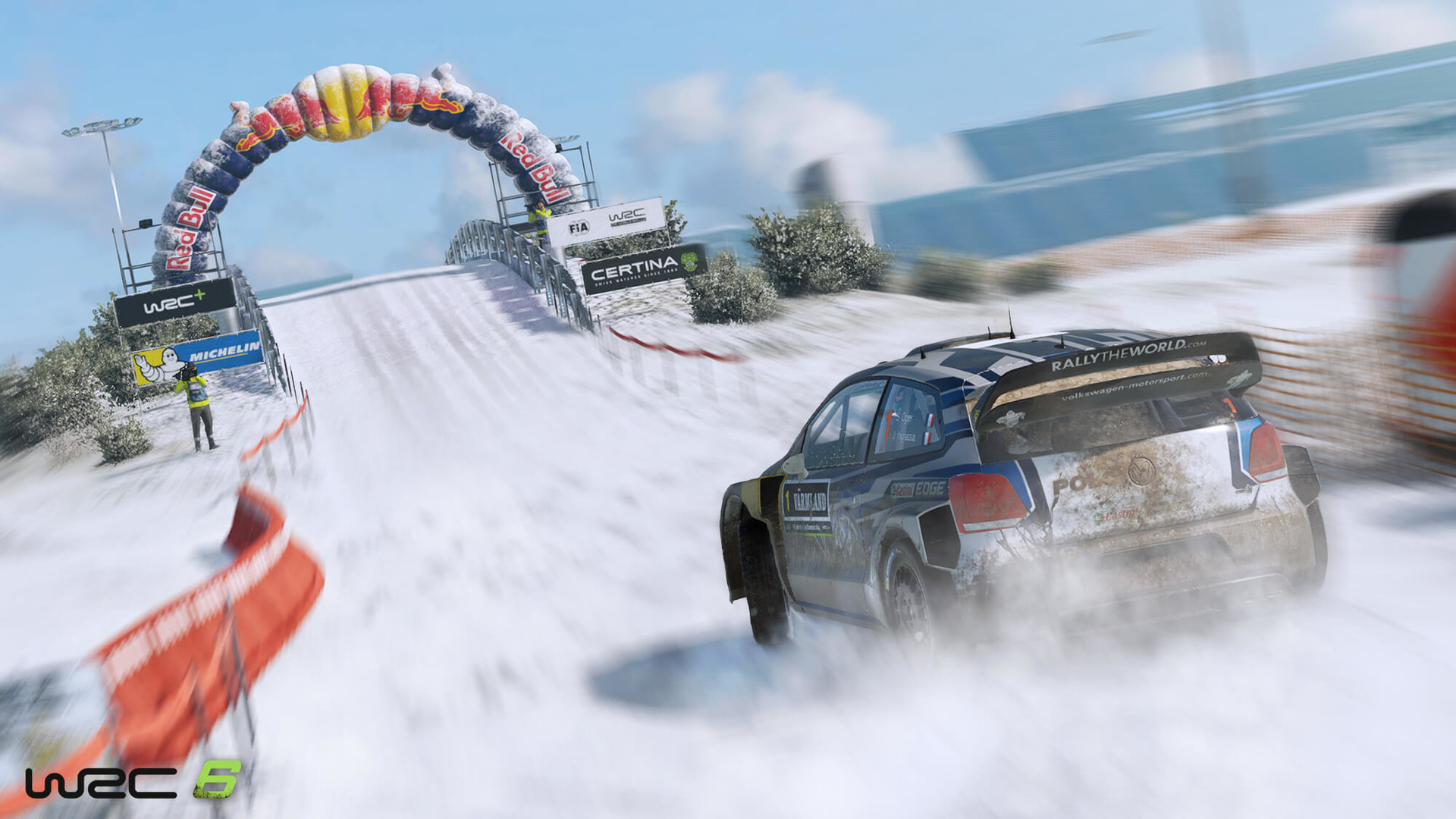 Official WRC 6 World Rally Championship 6 (PC)