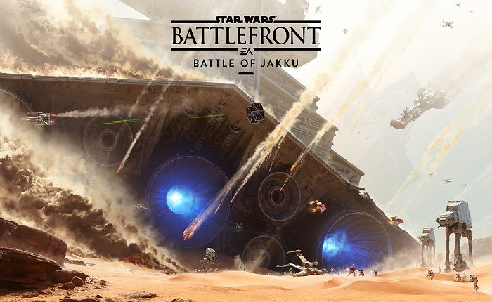 Official Star Wars Battlefront with Battle of Jakku