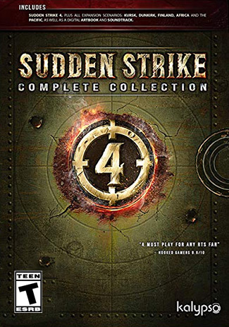 Official Sudden Strike 4 Complete Collection (PC)