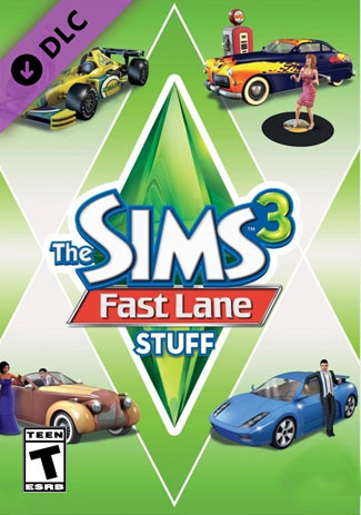 The Sims 3 - Fast Lane Stuff (DLC)