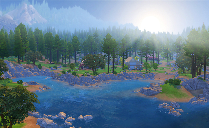 The Sims 4 Outdoor Retreat  (PC)