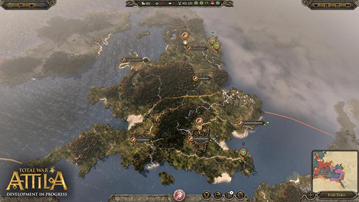 Official Total War: Attila RU(PC/Mac)