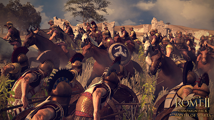 Official Total War: ROME II - Wrath of Sparta DLC (PC)