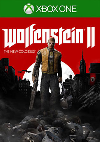 Official Wolfenstein 2 The New Colossus (Xbox One Download Code)