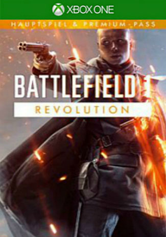 Official Battlefield 1 Revolution (Xbox One Download Code)