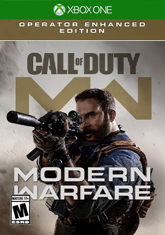 Official Call of Duty: Modern Warfare - Operator Enhanced Edition (Xbox One Download Code)