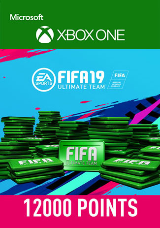 Official FIFA 19 12000 Points  (Xbox One Download Code)